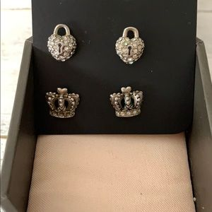 Juicy Couture Earrings - Used and Loved (2 sets)